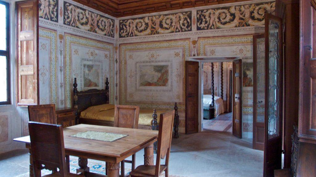 Bauten und Geschichte | Palazzo Vertemate-Franchi, Piuro