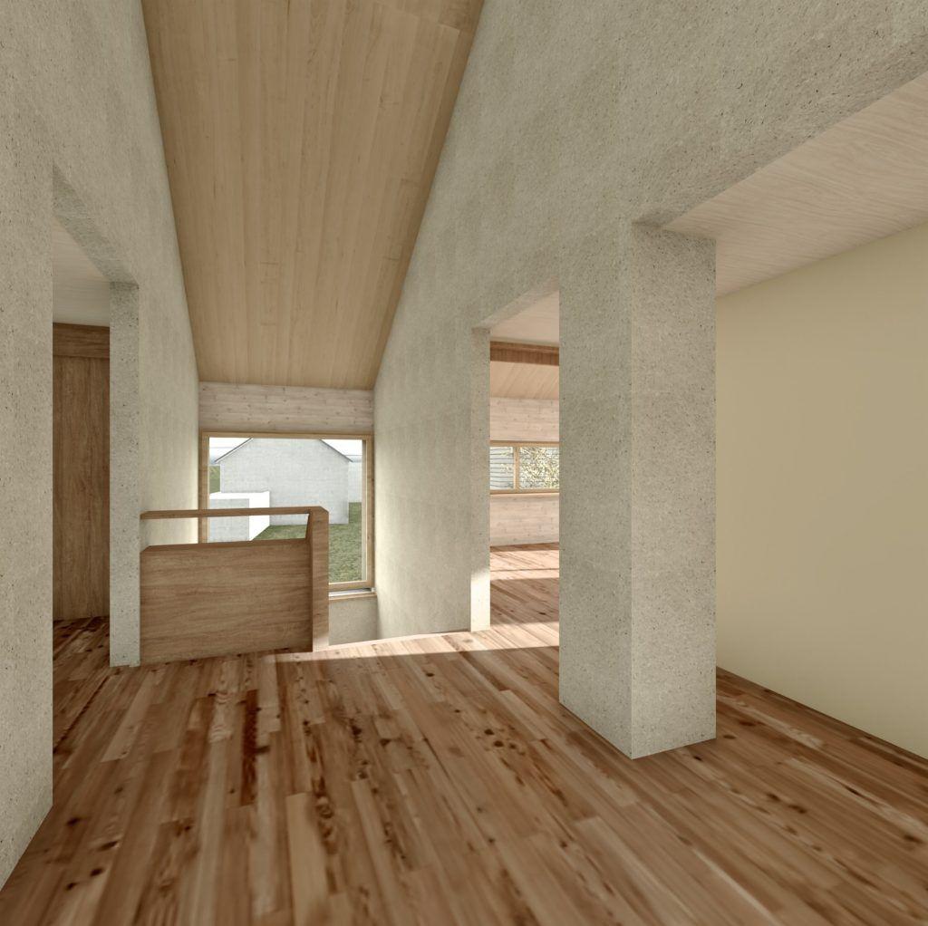 Aufstockung und Erweiterung Windisch Visualisierung Mittelzone Obergeschoss