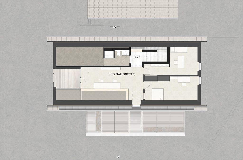 Umbau Bauernhaus und Neubau Habsburg Dachgeschoss