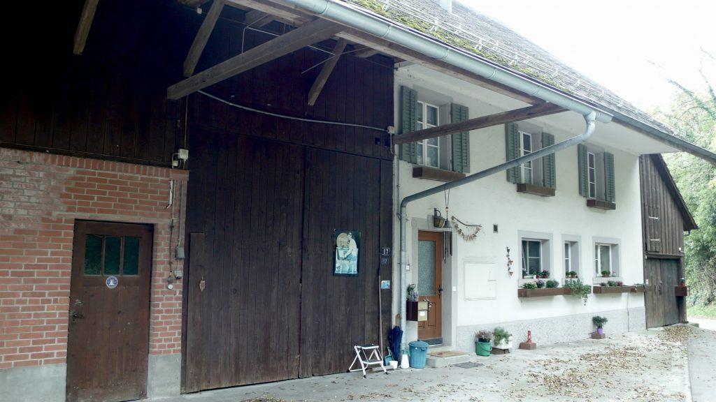Umbau Bauernhaus und Neubau Habsburg Bauernhaus von Norden