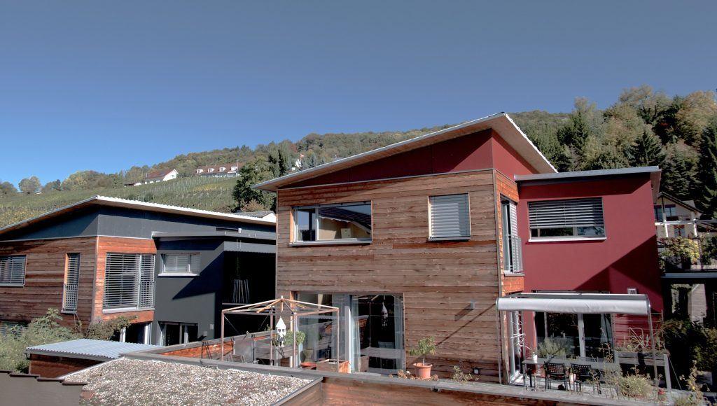 5 Einfamilienhäuser Klingnau Haus 2 von Südwesten