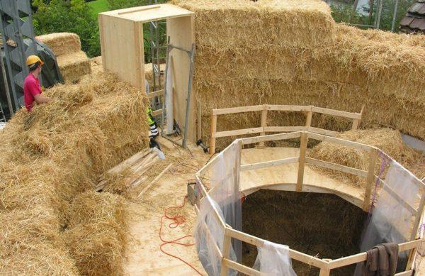 Baubioswiss Besichtigung Kräuterwerk im Strohturm