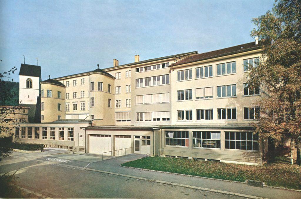 Partizipation Effingerhof Gebäude von Westen
